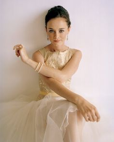 Alexis Bledel. Had a girl crush on her ever since seeing Sisterhood of the Traveling Pants