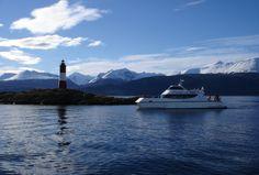 Beagle Channel and Sea Lions Island Catamaran Cruise Ushuaia, Set Sail, Catamaran, End Of The World, Beagle, Lighthouse, North America, Sailing, Channel