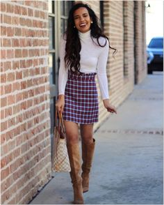 20 elegant outfit ideas for spring 2018 womens clothing stores, clothes for women, mini Adrette Outfits, Fall College Outfits, Neue Outfits, Winter Dress Outfits, Weekly Outfits, Preppy Outfits, Classy Outfits, Spring Outfits, Fashion Outfits