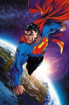 Superman #205//Michael Turner/T/ Comic Art Community GALLERY OF COMIC ART