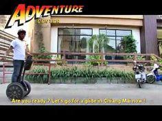 Segway Gibbon city tour in Chiang Mai, segway tours Thailand