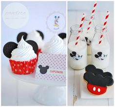 Mickey Mouse Cupcakes & Cookies