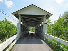 Snook's Covered Bridge located in Bedford County, Pennsylvania.  Photo by tcpix, via Flickr