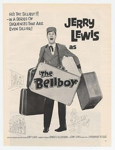 1960 jerry lewis in the Bell Boy
