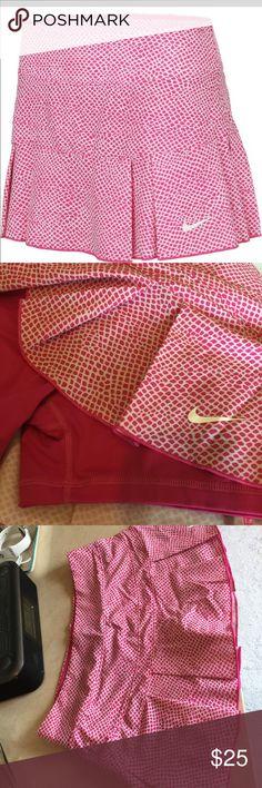 Nike tennis skirt. Pink. Medium Brest Nike animal print tennis skirt. Medium, great condition. Nike Other