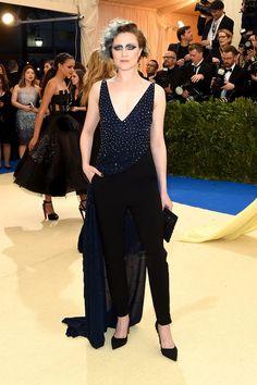 Evan Rachel Wood Wearing Altuzarra #DressYourUniqueness #MetGala #2017 #CommesDesGarcons #NewYork #VesselAtelier #MetGala2017