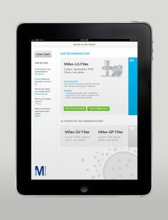 Various Interface Designs by Martin Oberhäuser, via Behance