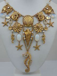 Askew London Sealife 'Bib' Necklace