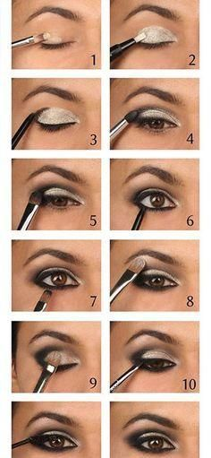 Easy smokey eye tips even for beginners!