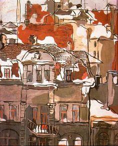 Władysław Strzemiński – Łódź Constructivism, Illustrations, Modern Art, Images, Artsy, Sculpture, Holiday, Polish, Paintings