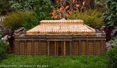 Longwood Train Garden-miniature conservatory