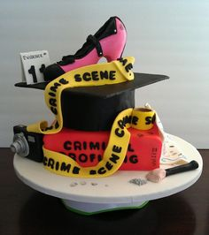 criminal justice wedding cake csi crime cake cakes birthdays 13093