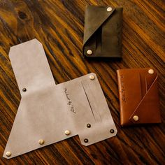 Vintage 100% Handmade Genuine head layer Leather Cowhide Men Women Short  Small  Wallet Coin Purse Card Holder .