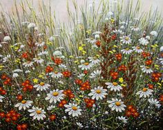 In The Tall Grass by Jordan Hicks, Acrylic on Canvas, Painting | Koyman Galleries