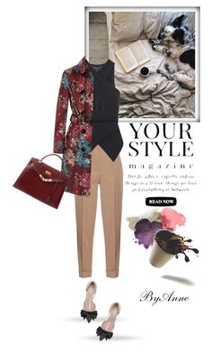 """Your Style"" by anne-977 ❤ liked on Polyvore featuring Bottega Veneta, Topshop, Burberry, Pussycat and Hermès"