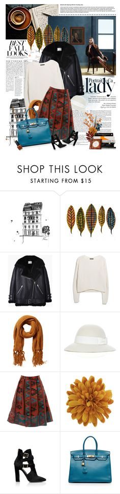"""autumn style"" by jesuisunlapin ❤ liked on Polyvore featuring Anja, H&M, Inez & Vinoodh, Acne Studios, MANGO, Monki, STELLA McCARTNEY, Miss Selfridge, Dorothy Perkins and Tamara Mellon"