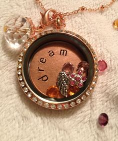 South Hill Designs - Lg Rose Gold Locket with Swarvoski Crystals * Jewelry  www.southhilldesigns.com/jenniferhope