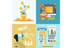 Check out Icons for seo, social media online by robuart on Creative Market