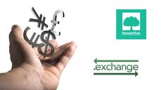 Trade up to .EXCHANGE  #dotexchange #exchange #gTLD #Domain #domains #descriptivedomains #finance #DomainTree #newrelease