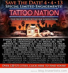 Tattoo Nation Movie Launch today. Click for more info & tickets