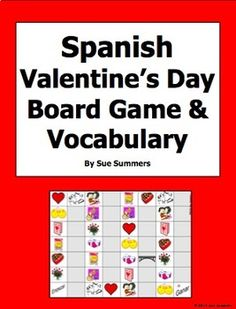 28 Best Spanish Valentine S Day Images Valentines Spanish Class