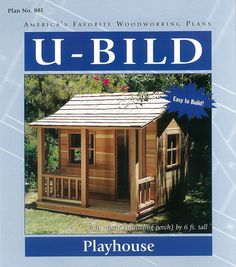 Woodworking Project Paper Plan for Playhouse No. 881 | Crafts, Home Arts & Crafts, Woodworking | eBay!