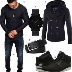 Timberland Boots, an American Icon ~ Fashion & Style Timberland Boots Outfit, Black Timberlands, Mantel Outfit, Timberland Waterproof Boots, Herren Style, Yellow Boots, Neue Outfits, Boating Outfit, Man Fashion