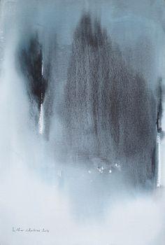 Watercolor Muriel Buthier-Chartrain 37 x 57 cm / 2014