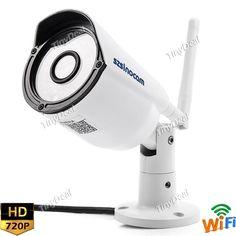 Sinocam SN-IPC-5034SW 1.0MP HD Wi-Fi IP IR Bullet Camera Night Version Support ONVIF SCM-515185