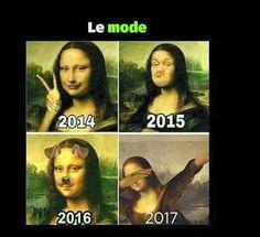 L'evolozione delle mode