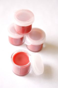 DIY pink tinted lip balm! Perfect for gifts, or even party favours for a birthday!