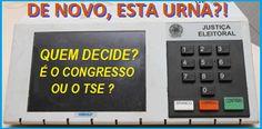 INSEGURANÇA ELEITORAL Afinal, quem faz as Leis? O Congresso ou o TSE? http://almirquites.blogspot.com/2016/06/inseguranca-eleitoral.html ________________________
