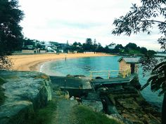 Cove Bay Beach, Watsons Bay, Sydney. Discover my special place on Blueberry Stories #travelblog #sydney #australia