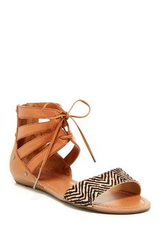 Darien Lace-Up Sandal