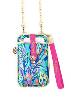Lilly Pulitzer ID Crossbody Phone Case