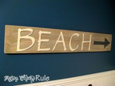 Driftwood Beach Sign
