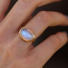 Taille 8 rainbow Topaz zircon cubique Bague de mariage 18K Black Gold Filled Women/'s Jewelry