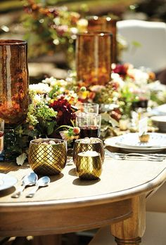 A Thanksgiving Table with Waiting On Martha & Ballard Designs