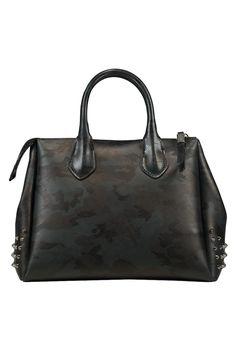 6106be50d13 Deze tas van Gum Bags is 100% synthetisch, de tas heeft een leerprint en
