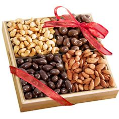 Golden State Fruit Savory and Chocolate Covered Nuts Gift Tray - http://mygourmetgifts.com/golden-state-fruit-savory-and-chocolate-covered-nuts-gift-tray/