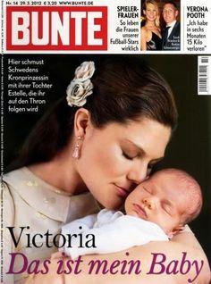 2012: Victoria von Schweden mit Baby Estelle