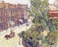 Spencer Gore, 1911. Mornington Crescent, London