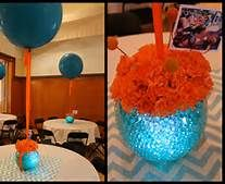 Teal and Orange Baby Shower - Bing Images