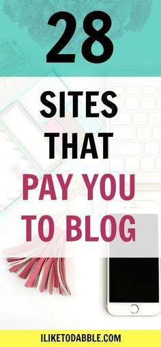 Sites that pay you to blog. Make money blogging. Monetize your blog. Sponsored post opportunity. Create a passive income from your blog. Get paid to play online.