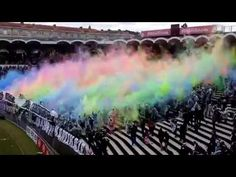 French Soccer Fans Rep Their Club With Stunning Colored Dust Cloud