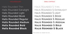 Alternative to Brandon Grotesque (everyone uses BG)  Halis Rounded - Webfont & Desktop font « MyFonts