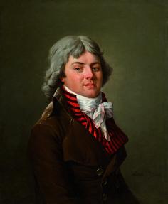 Galerie Eric Coatalem: Adélaïde Labille-Guiard (Paris, 1749 –  Paris, 1803), Portrait of a member of the french Convention, Oil on canvas, H. : 73 x L. : 60 cm.