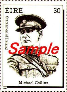 Michael Collins stamp