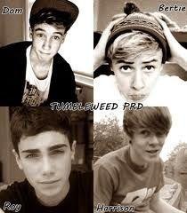 Dom, Bertie, Roy, Harrison = TumbleweedPRD ❤ gotta love my Brits :)