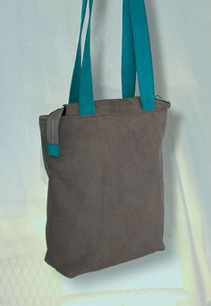 Leather shopper and backpack in one door NotYourAverageObject op Etsy https://www.etsy.com/nl/listing/225924255/leather-shopper-and-backpack-in-one